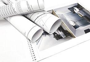 Печать дизайн-проектов Киев