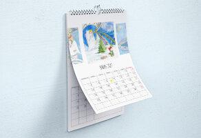перекидной календарь Киев срочно